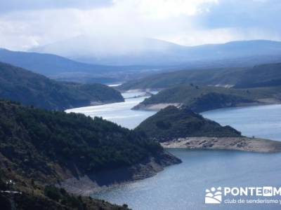Senda Genaro - GR300 - Embalse de El Atazar - Patones de Abajo _ El Atazar; senderismo vistahermosa